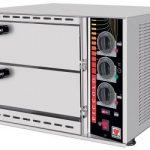 Φούρνος Πίτσας  Διπλός (Piccolo Μοντέλα – 35X35cm)  SPM-48  /  03856 Geniko Emporio Επαγγελματικός Εξοπλισμός Επιχειρήσεων Εστίασης και Ξενοδοχείων